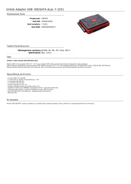 Unitek Adapter USB- IDE/SATA dual, Y-1031