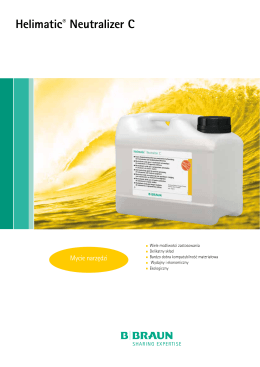 Helimatic® Neutralizer C - ulotka