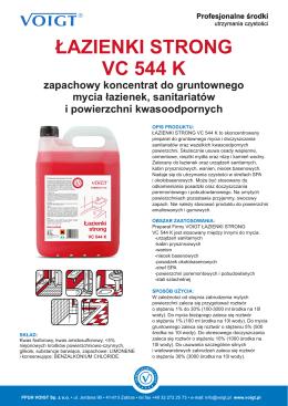 Karta produktu VC 544 K.CDR