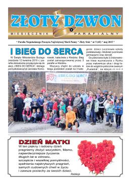 I BIEG DO SERCA - Parafia Rzymskokatolicka pw Niepokalanego