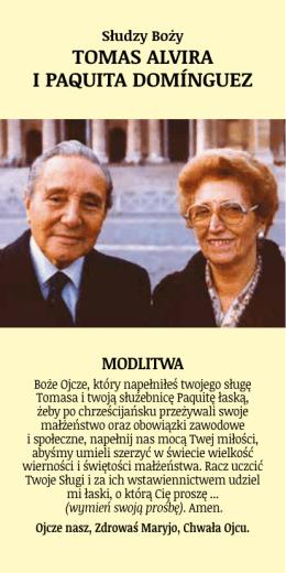 TOMAS ALVIRA I PAQUITA DOMÍNGUEZ