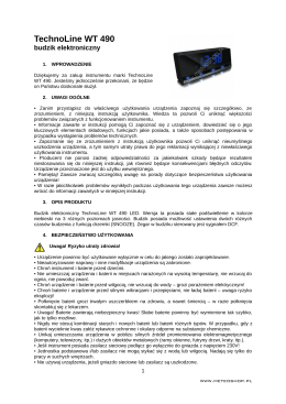 TechnoLine WT 490