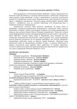 1d opis - III Liceum Ogólnokształcące im. KK Baczyńskiego w