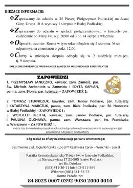 Pobierz 30 Nr Gazetki z 26.07.2015 r.