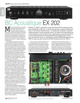 BC Acoustique EX 202