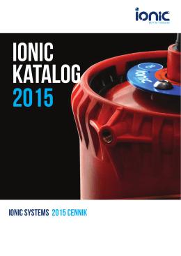 ionic systems 2015 Cennik
