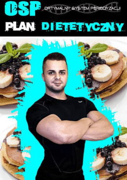Dieta #3500 kcal ETAP 1 MAKSYMALNA