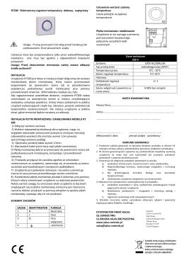 Instrukcja RT200