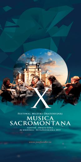 X Festiwal Muzyki Oratoryjnej MUSICA