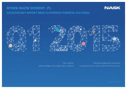 Rynek nAZW domeny .PL - Krajowy Rejestr Domen