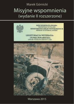Misyjne wspomnienia (wydanie II rozszerzone)