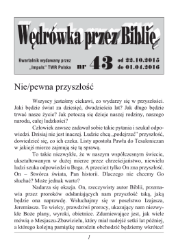 tutaj - Impuls Trans World Radio Polska