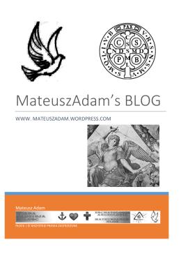 MateuszAdam`s BLOG