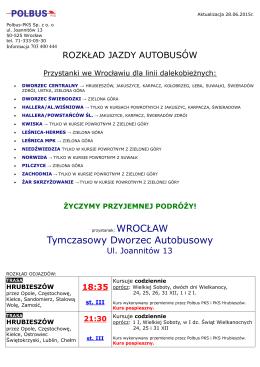 Wrocław - Pol Bus