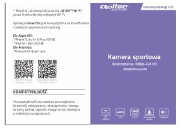 Instrukcja obsługi kamera sportowa (50208)