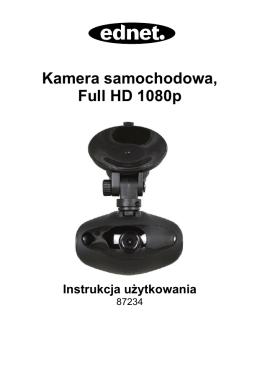 Kamera samochodowa, Full HD 1080p