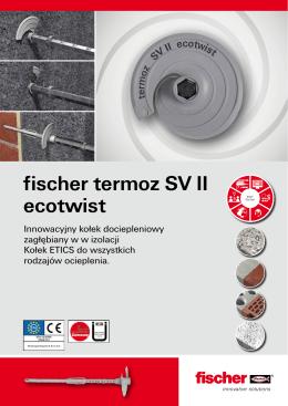 fischer termoz SV II ecotwist