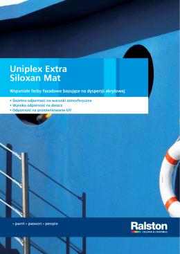 Uniplex Extra Siloxan Mat - Ralston Colour Systems B.V.