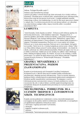 Książki zakupione w 2015r. - Biblioteka Publiczna w Dzielnicy