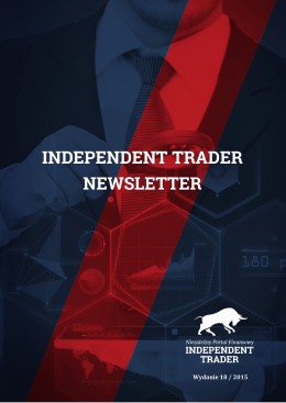 Independent Trader Newsletter - 18/2015
