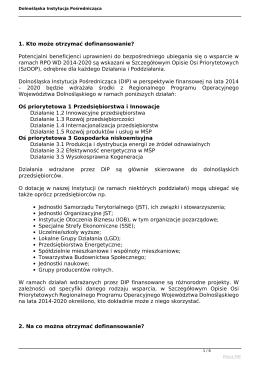 Dolnośląska Instytucja Pośrednicząca