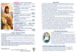 VRPOLJE – raspored Sv