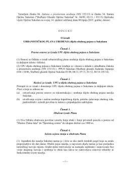 Na temelju članka 78