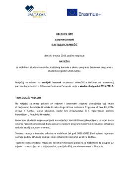 Pročitaj više - Veleučilište Baltazar Zaprešić