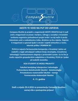 Company Shuttlea (P1, 16