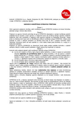 Pdf ugovor o korištenju teretane
