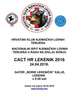 CACT HR LEKENIK 2016
