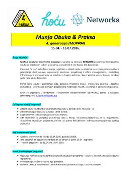 Munja – MOP4 – Info – 4.2016
