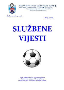 5 - Nogometni Savez Karlovačke Županije