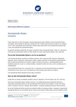 Zonisamide Mylan, INN-zonisamide