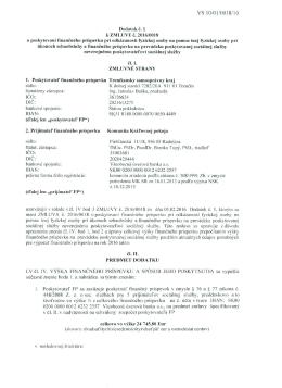 VS l O/O 110018/16 - Trenčiansky samosprávny kraj