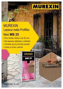 MB 25 - Murexin