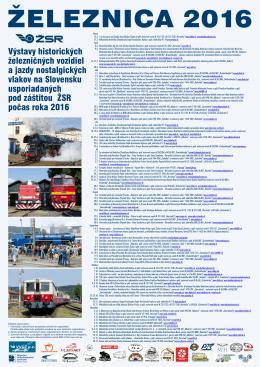 zeleznicny kalendar 2016