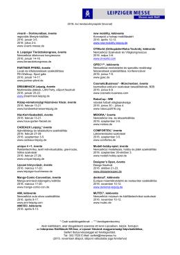 új távlatok - Interpress Kiállítások Kft.