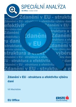 Zdanění v EU - Česká spořitelna