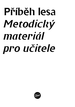 Metodické materiály – textová část