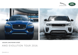 AWD EVOLUTION TOUR 2016.