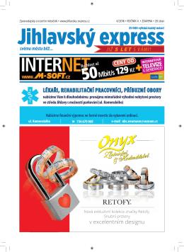 Duben - Jihlavský express