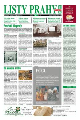 národní galerie - Listy Prahy 1