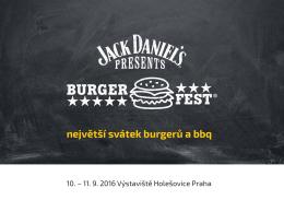 největší svátek burgerů a bbq