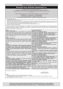 Stáhněte si soubor PDF s Oznámením