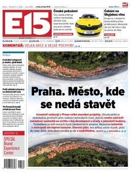 Praha. město, kde se nedá stavět