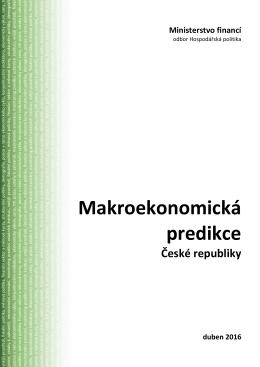Makroekonomická predikce komplet ke stažení