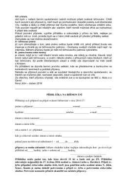 Přihláška ke stažení ZDE
