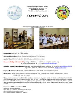 prodavač 2016 - VS Trmice - Střední škola obchodu, řemesel, služeb
