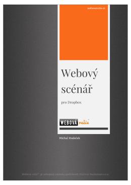 Webový scénář - Webová režie